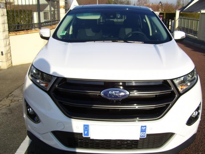 Personnel Ford France Edge Sport